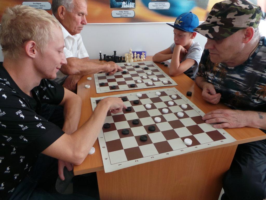 фото спартакиада каратуз шашки 126