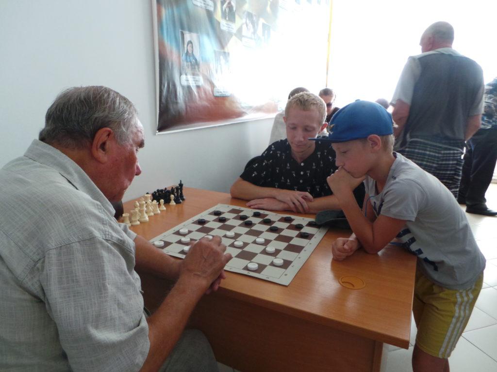фото спартакиада каратуз шашки 133